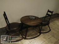 Kursi Meja Cafe Vintage