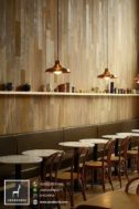Kursi Cafe Scandinavian Jati