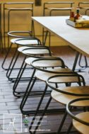 Kursi Restoran Industrial Minimalis