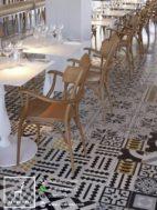 Kursi Restoran Scandinavian