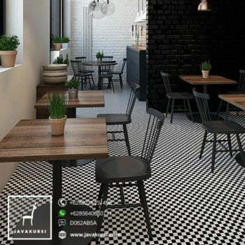 Kursi Meja Restoran Minimalis