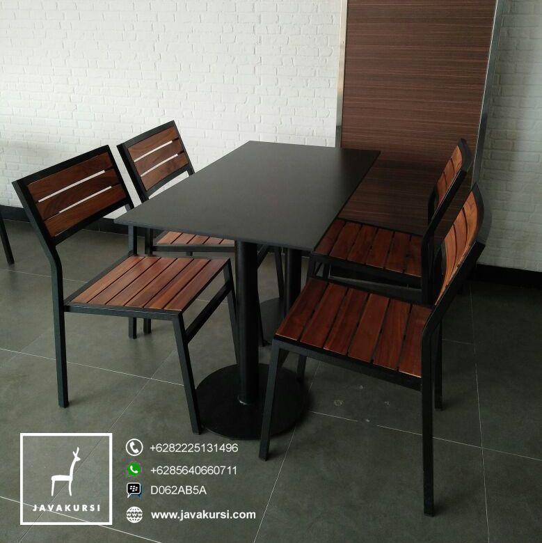Kursi Meja Cafe Kaki Besi Minimalis Jual Furniture Kursi