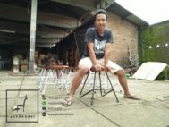 Stool Cafe Industrial By Java Kursi