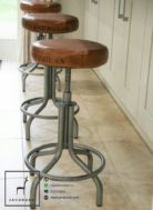 Stool Kursi Bar Putar Industrial