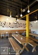 Kursi Meja Cafe Garden Jati Solid