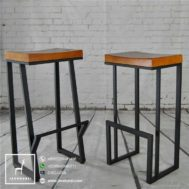 Model Stool Bar Industrial Minimalis