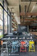 Stool Kursi Anak Industrial Cafe
