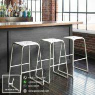 Stool Kursi Bar Industrial Minimalis
