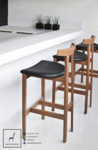Jual Kursi Bar Kayu Vintage Kursi Cafe Furniture Vintage Jepara Murah